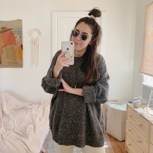 Oversized Wool Gap Sweater